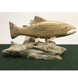 Mountain Angler Carved Trout - Large