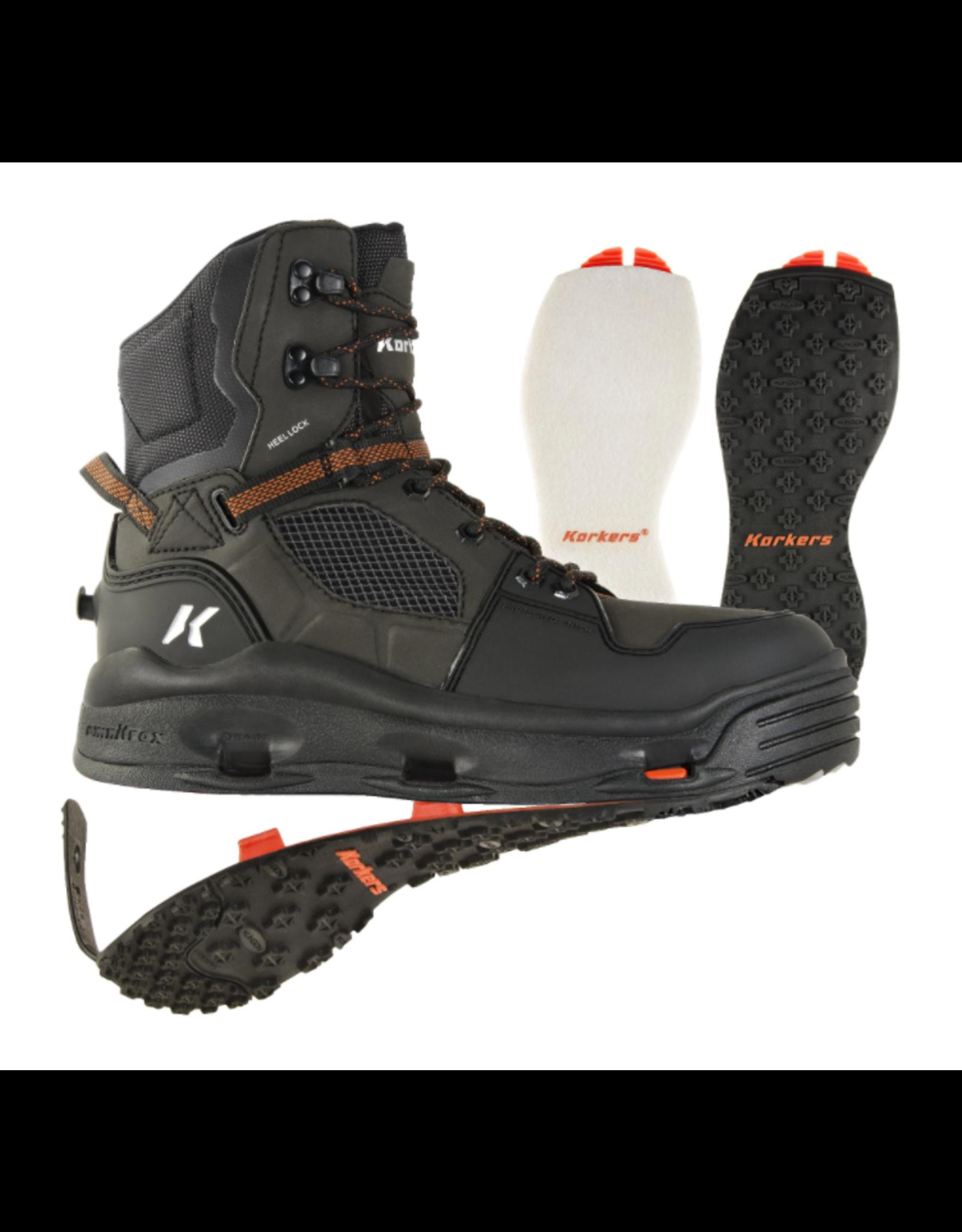 Korkers Korkers - Men's Terror Ridge Wading Boots - Kling-on & Felt