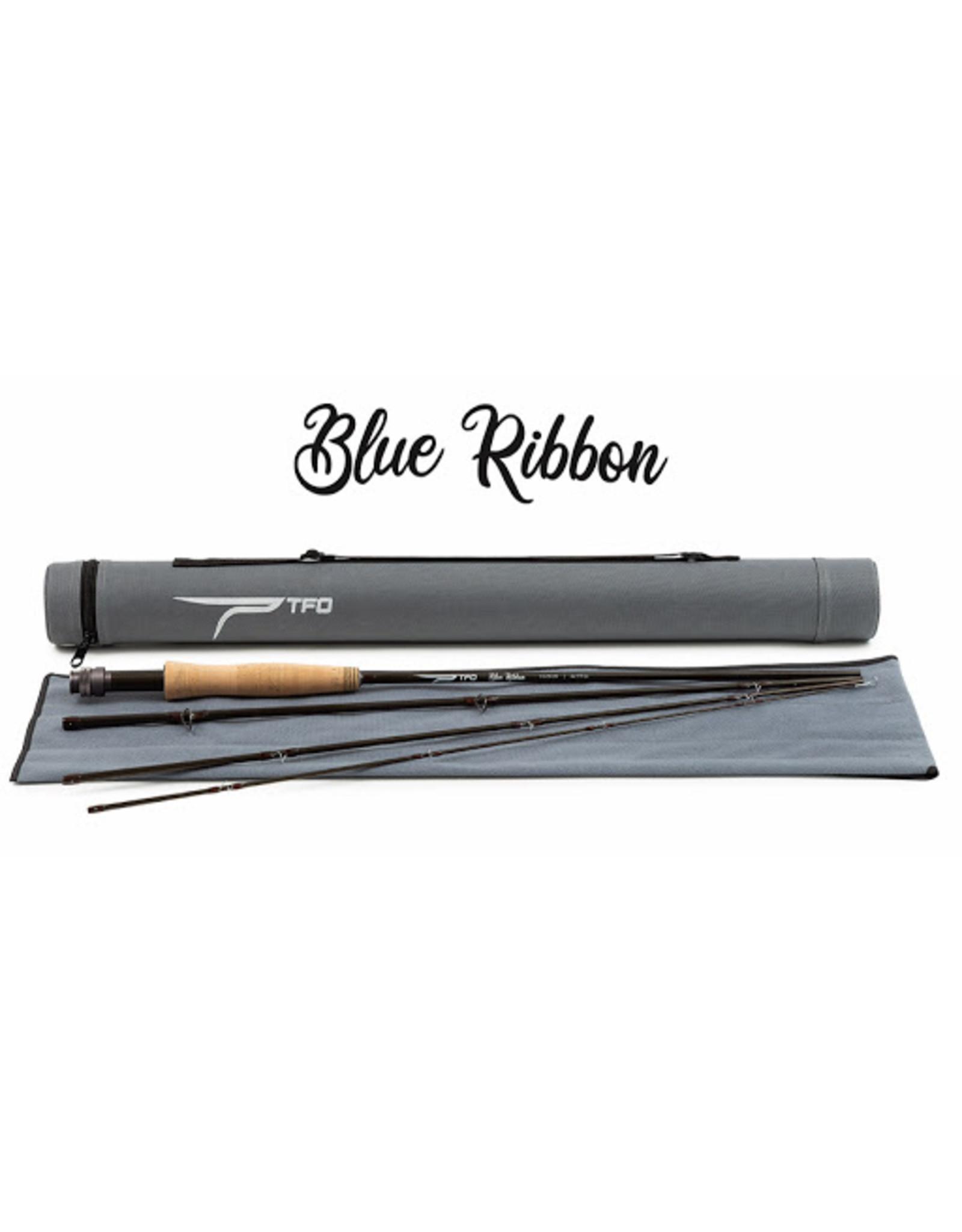 Temple Fork TFO - Blue Ribbon Fly Rod w/ Case