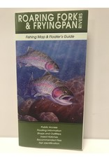 Shook Book Publishing The Fly Fish Guide Company - Roaring Fork & Frying Pan River Map