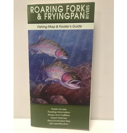 Shook Book Publishing Roaring Fork & Frying Pan River Map