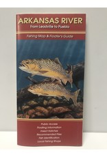 Shook Book Publishing The Fly Fish Guide Company - Arkansas River Map