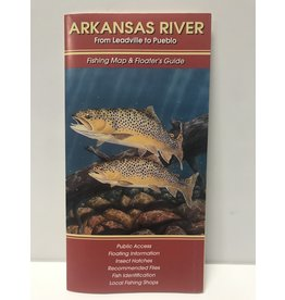 Shook Book Publishing Arkansas River Map