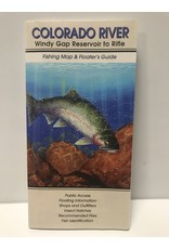 Shook Book Publishing The Fly Fish Guide Company - Colorado River Map