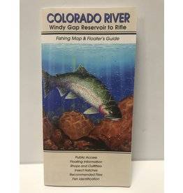 Shook Book Publishing Colorado River Map