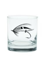 Rep Your Water Rep Your Water - Salmon Fly Old Fashioned Glass