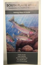 Shook Book Publishing The Fly Fish Guide Company - South Platte River Map