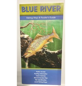 Shook Book Publishing Blue River Map