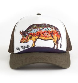 Art 4 All Hog Brown Hat