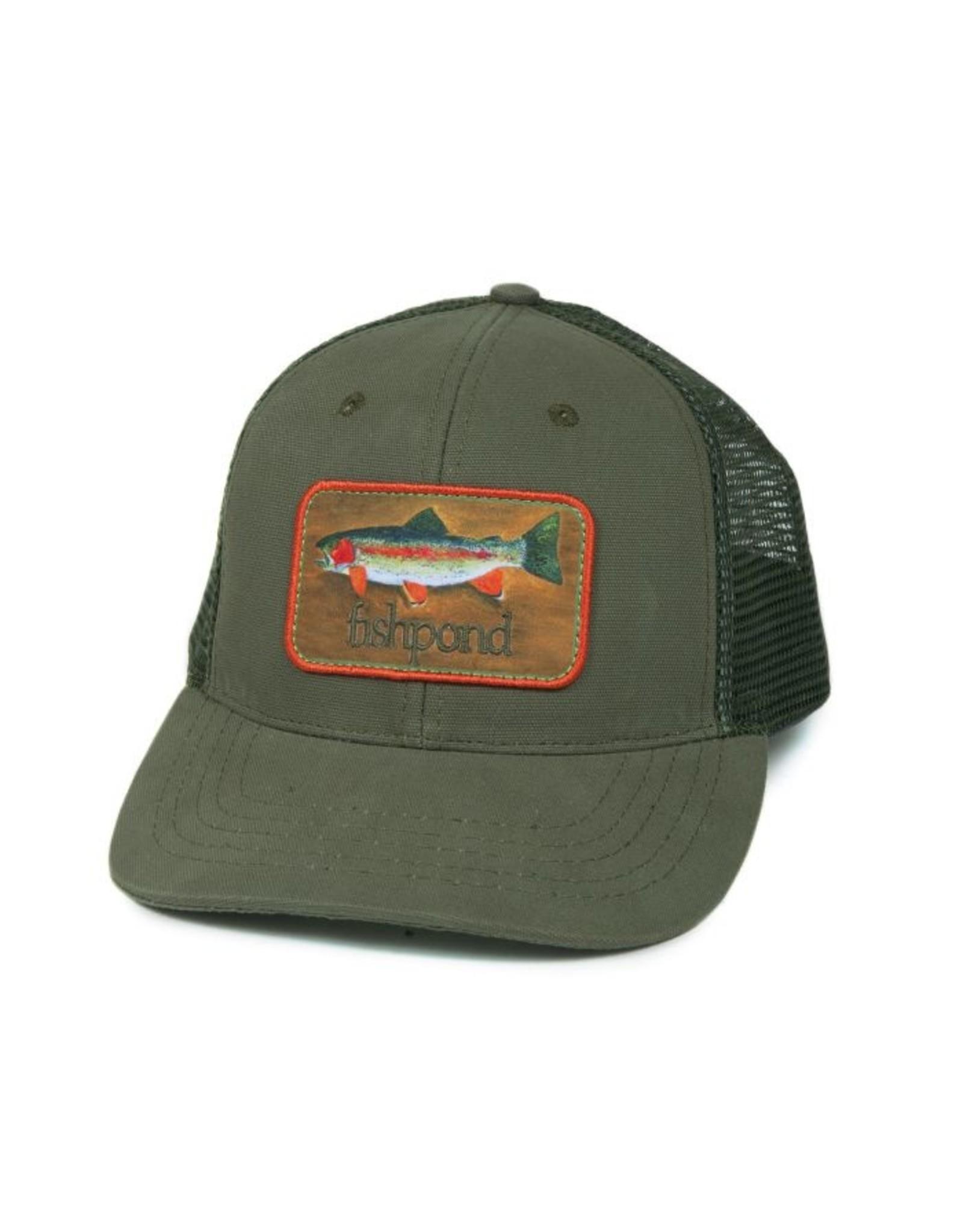 Fishpond Fishpond - Rainbow Trout Hat - Olive