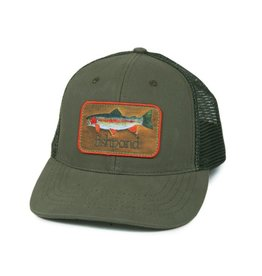 Fishpond Fishpond - Rainbow Trout Hat - Olive