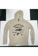 Ouray Mountain Angler LOGO - Confluence Hoody Long-sleeved  Tee