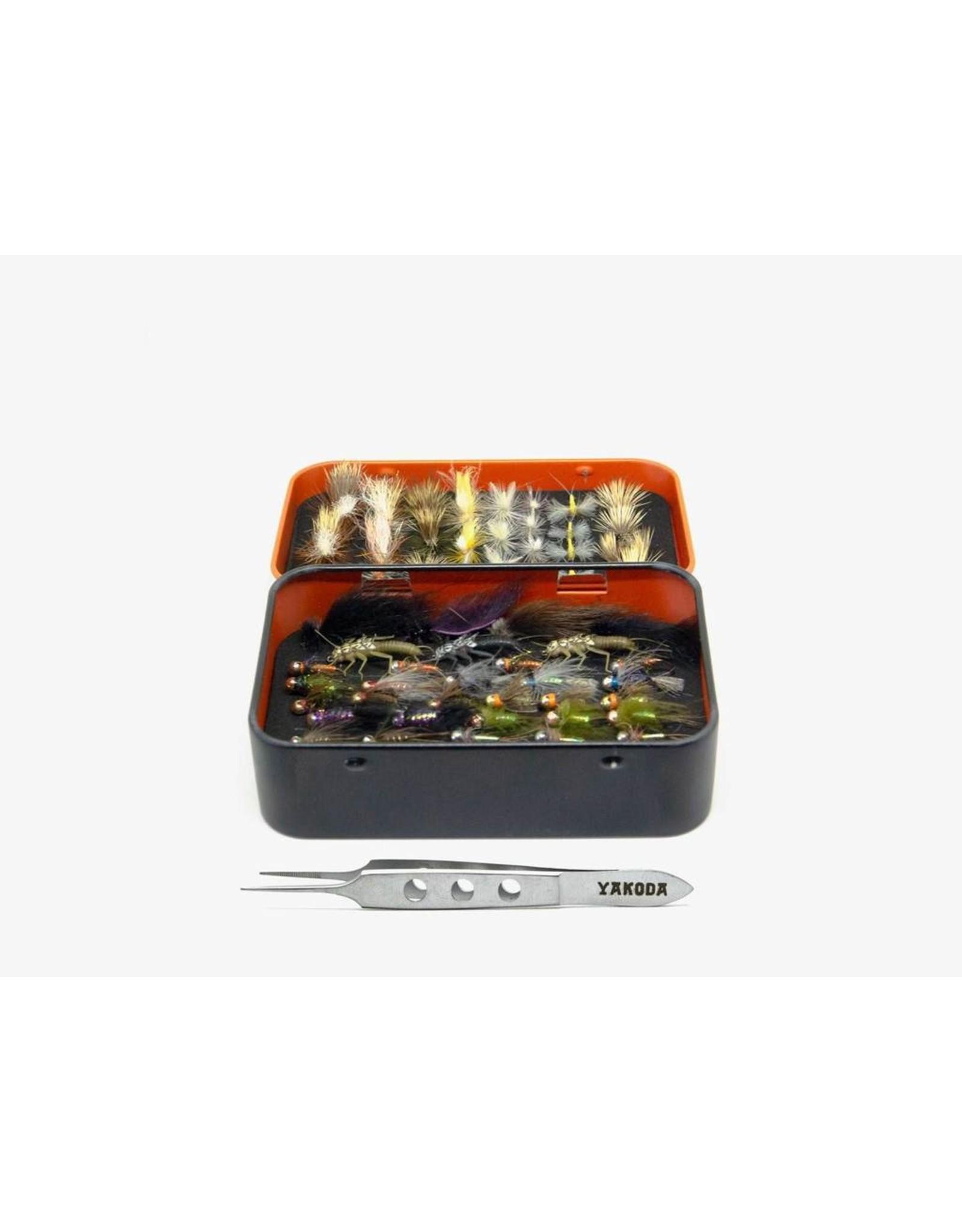 Yakoda Supply Yakoda - Fly Tin & Tweezer Combo Fly Box