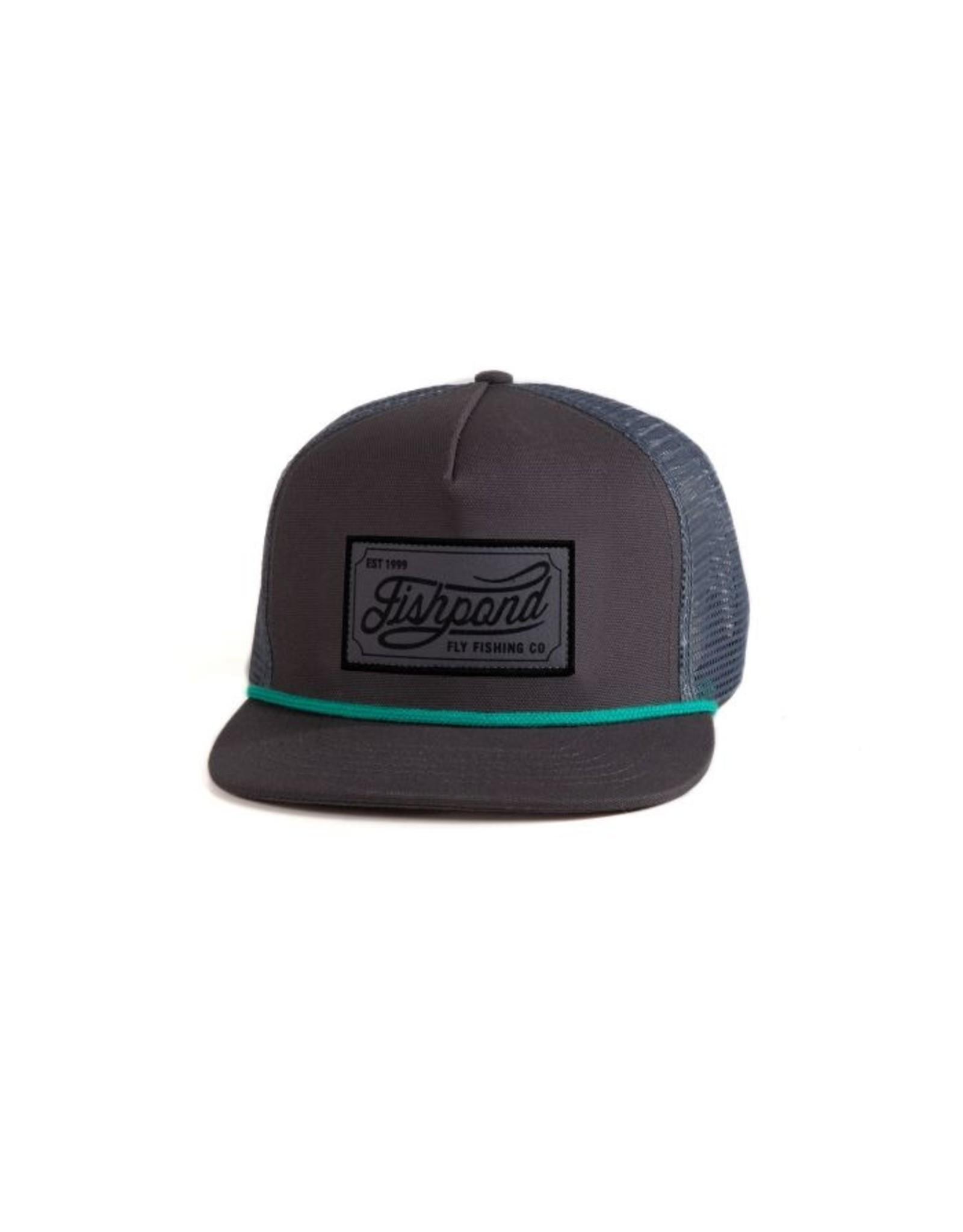 Fishpond Fishpond - Heritage Trucker Hat - Slate