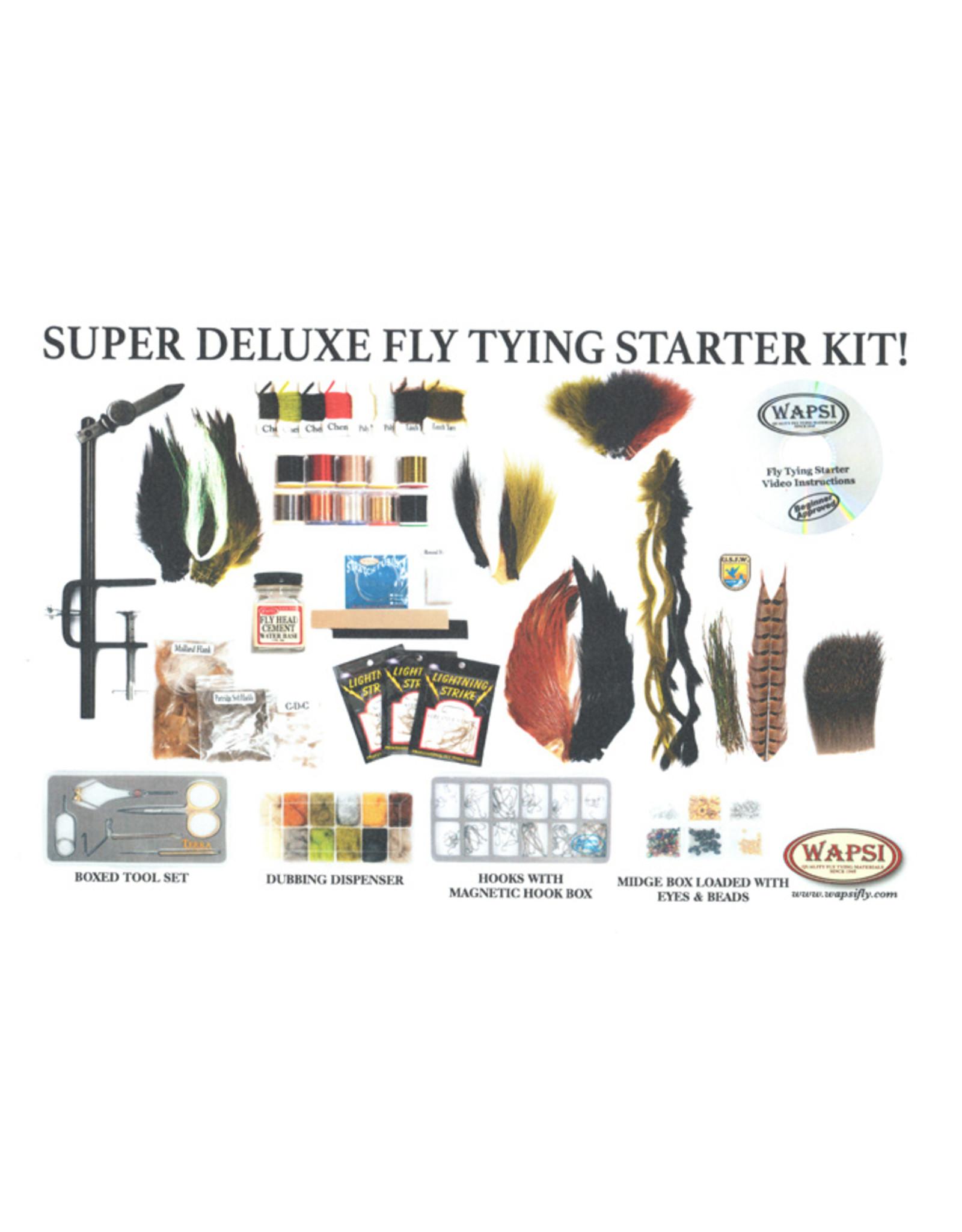Wapsi Wapsi - Super Deluxe Fly Tying Starter Kit
