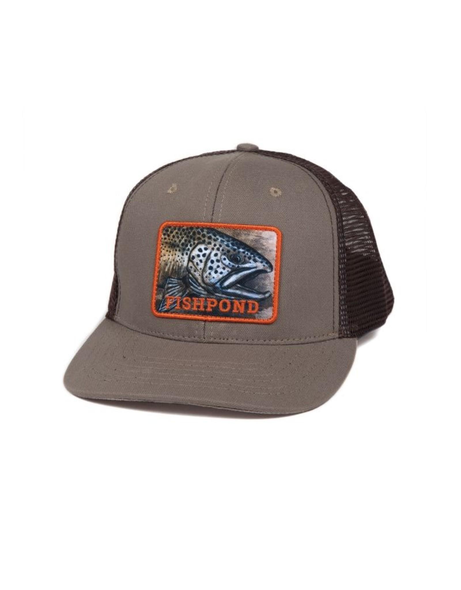 Fishpond Fishpond - Slab Trucker Hat - Sandstone / Brown