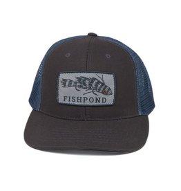 Fishpond Fishpond - Meathead Hat Charcoal / Slate