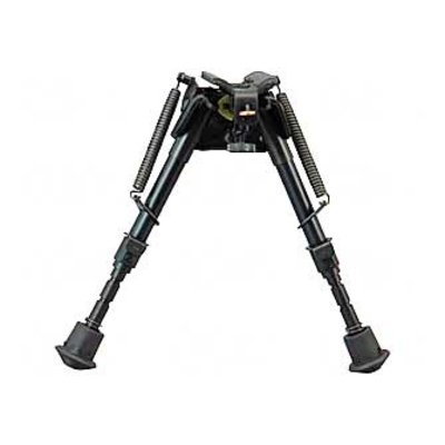 "Harris Engineering Bipod Rotating Black Leg Notch 6""-9"" SBRM"
