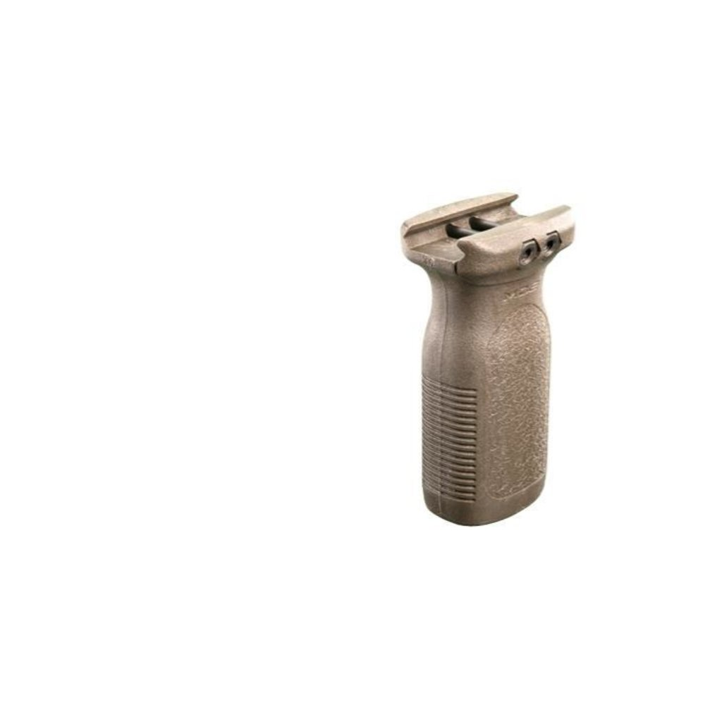 Magpul Industries Magpul RVG - Rail Vertical Grip 1913 Picatinny FDE MFG # MAG412 UPC # 873750005010