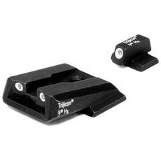 Trijicon Trijicon Bright & Tough SA37: Smith & Wesson 3 Dot Green Front & Green Rear Nights Sights MFG # 600442