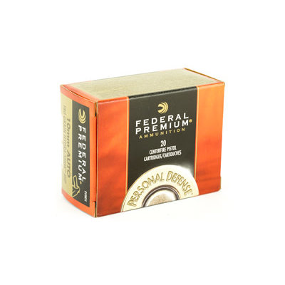 Federal Ammunition FEDERAL HYDRA-SHOK 10MM 180GR 20/500