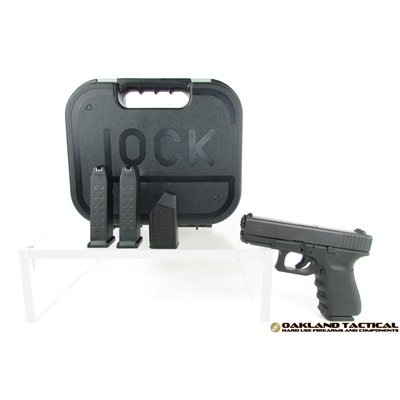 "Glock (Blue Label) Glock G19 Gen3 4.01"" Barrel 9x19mm MFG # PI1950202 UPC # 764503911224"