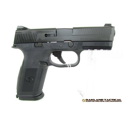 "FNH USA (Law Enforcement) FNH USA FNS-40 NMS 4.0"" Barrel .40 S&W MFG # 66922 UPC # 845737002893"