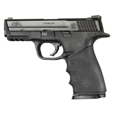 Hogue Inc Handall Hybrid S&W M&P 9mm/40 S&W/.357 Sig Grip Sleeve Black MFG # 17400 UPC # 743108174005