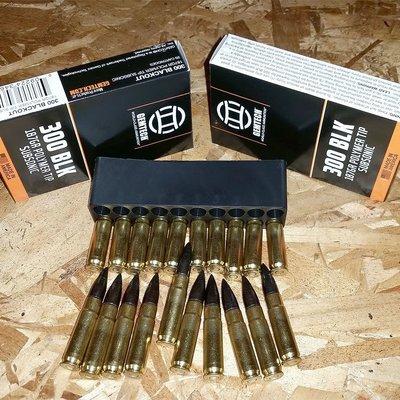 Gemtech Gemtech Subsonic .300BLK 187 Grain Ammunition MFG # AMMO-300BLK-187 UPC # 609224346187