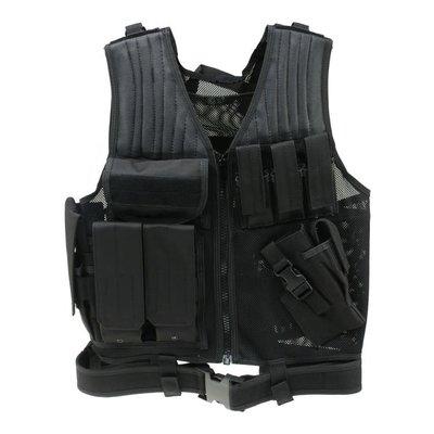 Drago Gear Drago Gear Airsoft Fast Draw Vest Black MFG # 51-301BL UPC # 815778010485