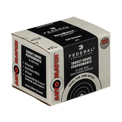 Federal Premium Ammunition Champion .22 Long Rifle Lead Round Nose 40 Grain MFG # AM22
