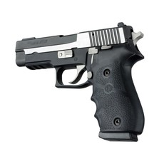 Hogue Grips Sig Sauer P220 American Rubber with Finger Grooves Black MFG # 20000 UPC # 743108200001