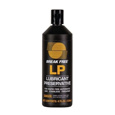 Break Free LP Lubricant Preservative Squeeze Bottle 4oz 10 pack MFG # LP-4-10 UPC # 088592002015