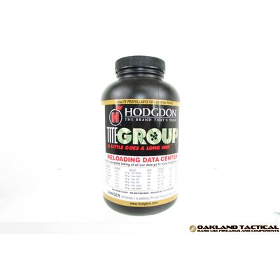 Hodgdon Titegroup Shotgun & Pistol Powder 1 lbs MFG # hdtg1 UPC Code # 039288531357