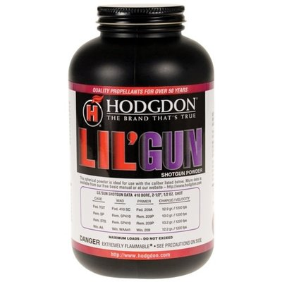 Hodgdon Powder Lil Gun Smokeless 1 Lb UPC # 039288531500