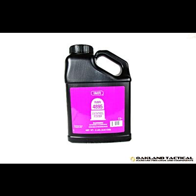 IMR Legendary Powders IMR 4895 Smokeless Powder 8 lbs MFG # DU48958 UPC Code # 754486059068