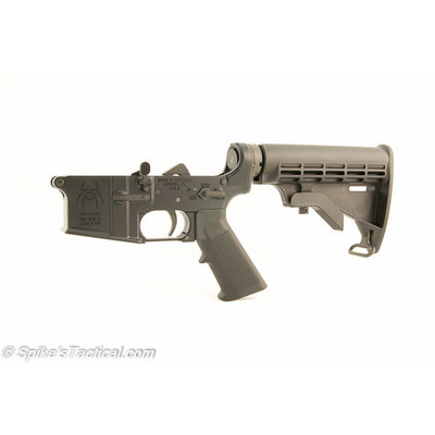 Spike's Tactical Spike's Tactical Spider (Bullet) Lower with Standard Kit - M4 Stock MFG # STLC200-SBS