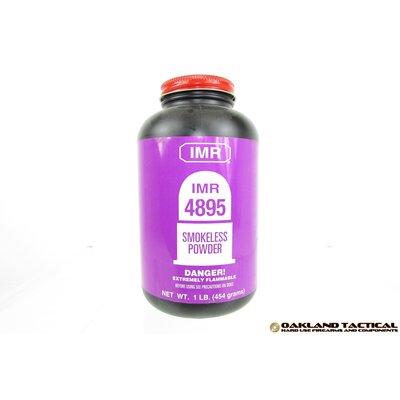 IMR Legendary Powders IMR 4895 Smokeless Powder 1 lbs MFG # DU48951 UPC Code # 754486059051