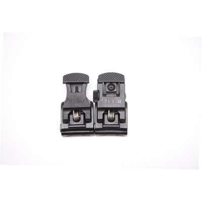 A.R.M.S. A.R.M.S. #71L-F/R Set Front & Rear Sight Set Black MFG # ARMS71L-F/R