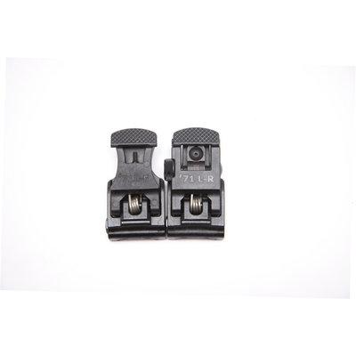 A.R.M.S., Inc. A.R.M.S. #71L-F/R Set Front & Rear Sight Set Black MFG # ARMS71L-F/R