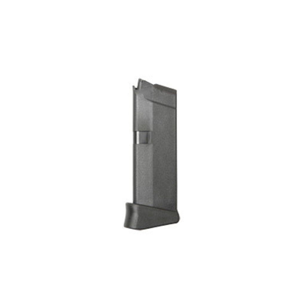 Glock Glock OEM Magazine G43 9MM 6RD W/EXT  9mm  MFG# MF08855 UPC Code# 764503003950