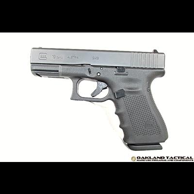 "Glock (Blue Label) GLOCK G19 Gen4 4.01"" Barrel 9x19mm MFG# PG1950202 UPC# 764503692024"