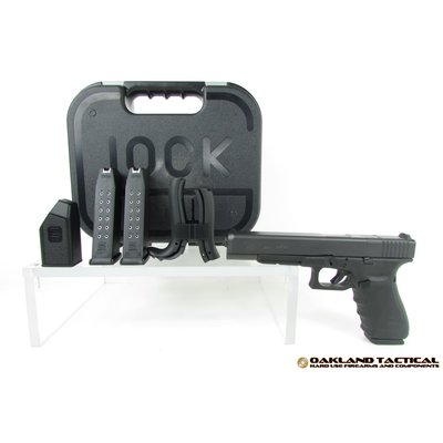 "Glock (Blue Label) GLOCK G40 Gen4 M.O.S. 6.02"" Barrel Length 10mm Auto MFG# PG4050202MOS UPC# 764503002694"