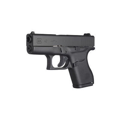 "Glock Glock 43 Semi-Auto Sub Compact 3.36"" 9mm 6rd Blk MFG# UI4350201 UPC# 764503913358"