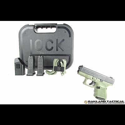 Glock Glock G27 Gen4 Green Frame .40 Caliber MFG # PG2750201BFG UPC Code # 764503913723