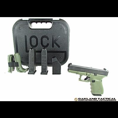 Glock Glock G23 Gen4 Green Frame .40 Caliber MFG # PG2350203BFG UPC Code # 764503913709