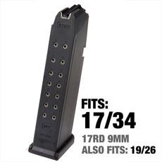 Glock Glock G17/34 Factory High Capacity Magazine 17 Round UPC # 764503170171