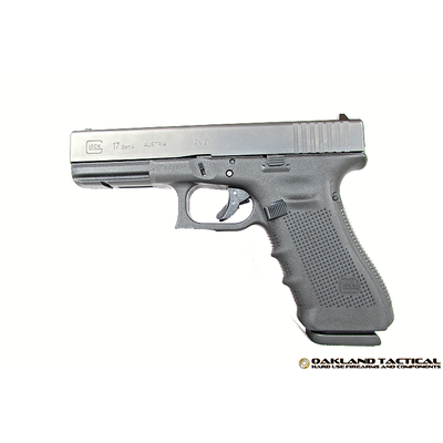 "Glock (Blue Label) Glock G17 Gen4 M.O.S. 4.48"" Barrel 9x19mm MFG # PG1750202MOS UPC Code # 764503913471"