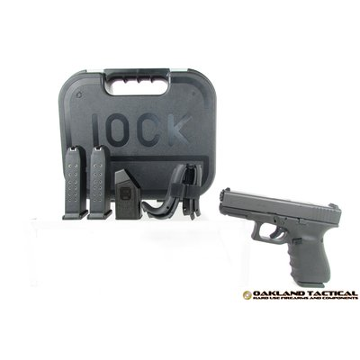 Glock Glock G19 Gen4 M.O.S 9x19mm MFG # PG1950202MOS UPC Code # 764503913501