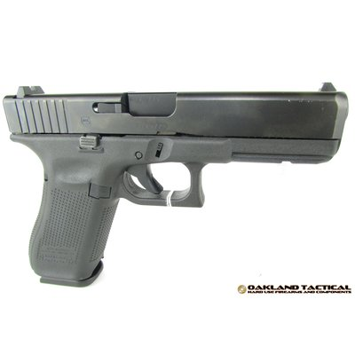 "Glock (Blue Label) Glock G17 Gen5 4.49"" Barrel 9x19mm MFG # PA1750202 UPC # 764503914829"